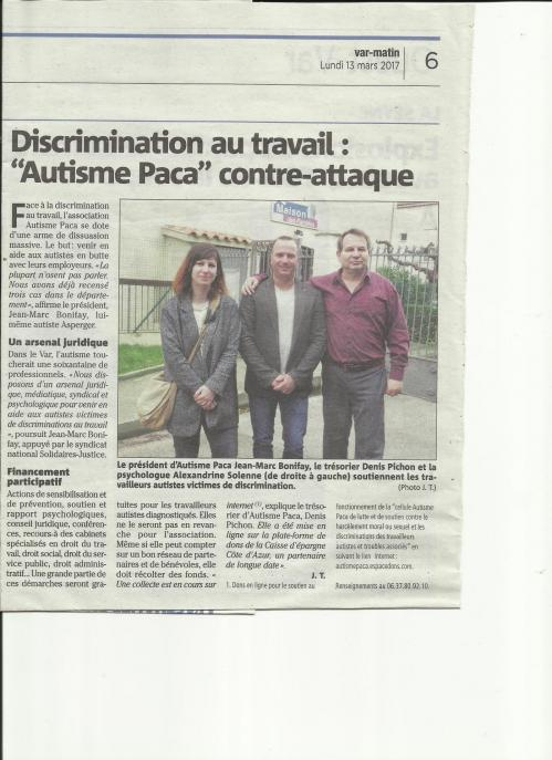 Article var matin 13 mars 2017 couleur