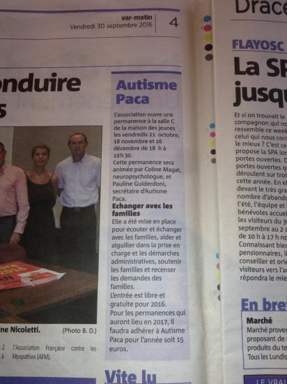 Article var matin antenne draguignan