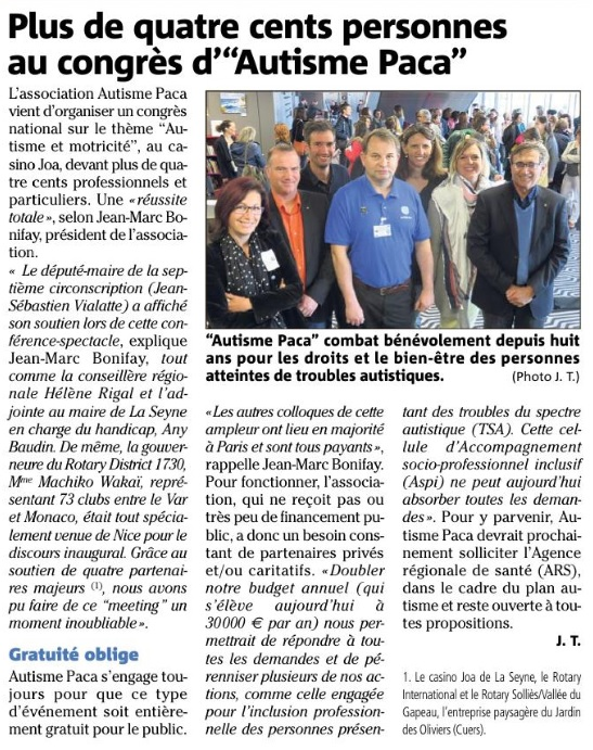 Article var matin congres 2017