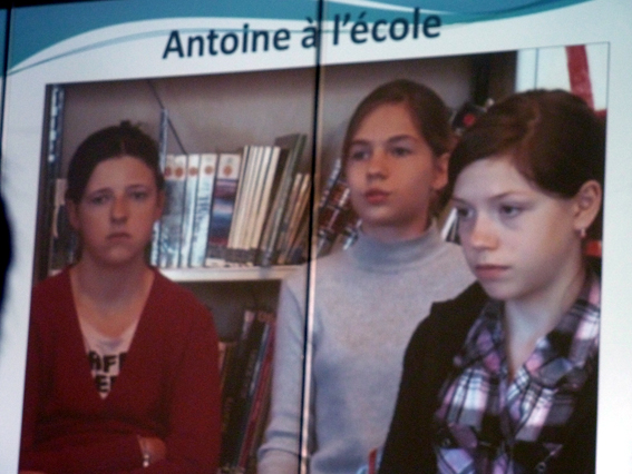 Photo colloque antoine a l ecole