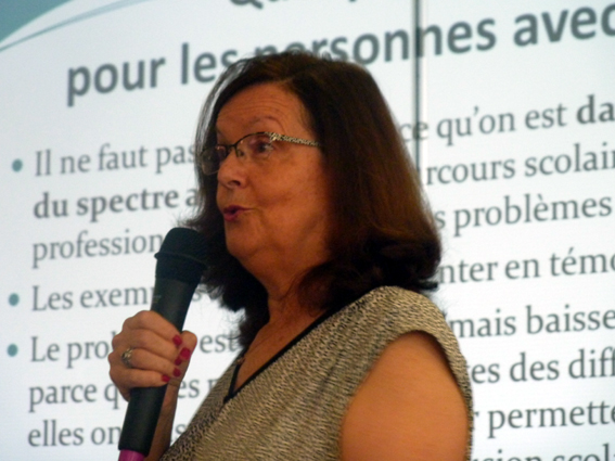 Photo colloque christine