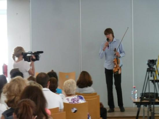 Photo colloque valentin violon