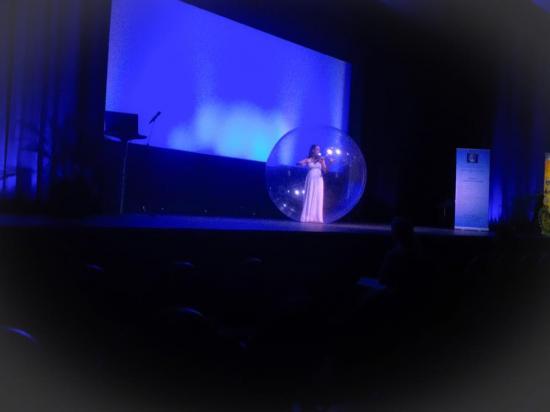 Photo congres 2017 violoniste a bulle
