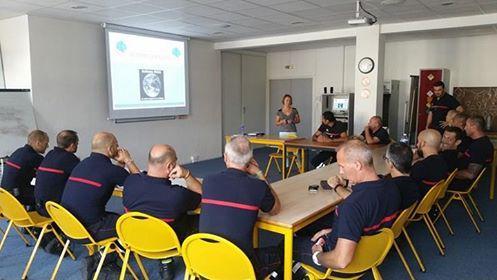 Photo formation pompier de la garde
