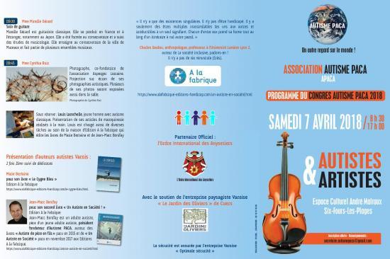 Programme congres autistes artistes page 001