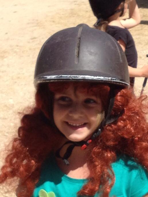 Sourire louison equitation